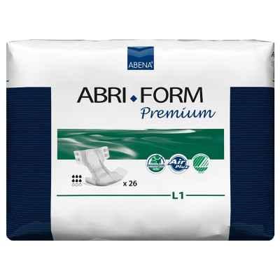 Πάνες βαριάς ακράτειας Abena Abri-Form Premium νύχτας L1 Large σε συσκευασία των 26 τεμαχίων