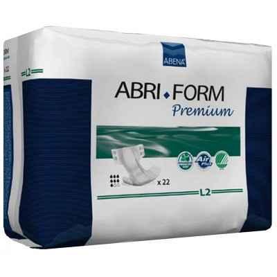 Πάνες βαριάς ακράτειας νύχτας Abena Abri-Form Premium Super L2 σε συσκ. 22 τμχ