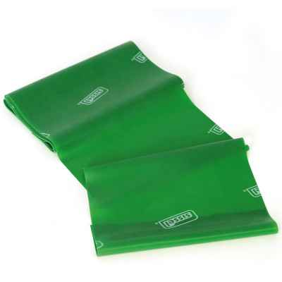 Eλαστικός ιμάντας άσκησης 2.5m x 15cm Sissel Fitband Essential Light πράσινος με μεγάλη αντίσταση