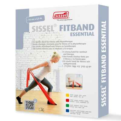 Eλαστικός ιμάντας άσκησης 2.5m x 15cm Sissel Fitband Essential