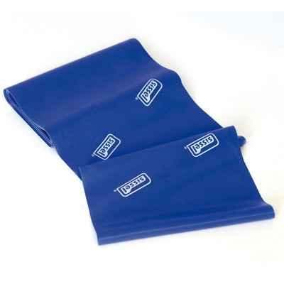 Eλαστικός ιμάντας άσκησης 2.5m x 15cm Sissel Fitband Essential Light μπλε με πολύ μεγάλη αντίσταση