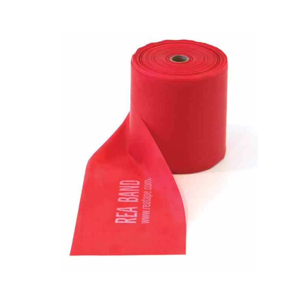 Ελαστικός ιμάντας άσκησης Κόκκινος (μαλακός)  για ασκήσεις με μικρή αντίσταση