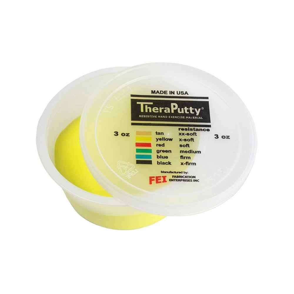 Θεραπευτική πλαστελίνη εξάσκησης CanDo® Theraputty X-Μαλακή Κίτρινη