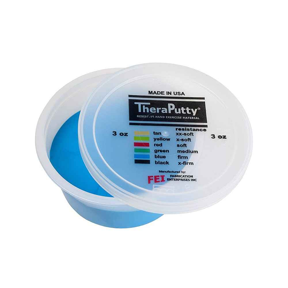 Θεραπευτική πλαστελίνη εξάσκησης CanDo® Theraputty Σφιχτή Μπλε