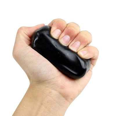 Θεραπευτική πλαστελίνη εξάσκησης χεριού - δακτύλων CanDo® Theraputty X-Σφιχτή Μαύρη