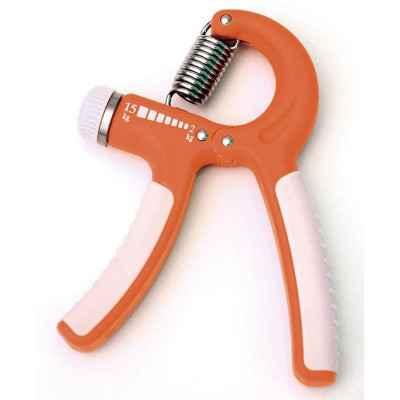 Ο εξασκητής χειρός και δακτύλων Sissel Hand Grip διατίθεται και σε πορτοκαλί με ρυθμιζόμενη αντίσταση 2 - 15 kg.