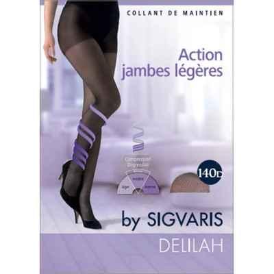 Καλσόν συμπίεσης για πρόληψη φλεβίτιδας Sigvaris Delilah 140 DEN Μπεζ
