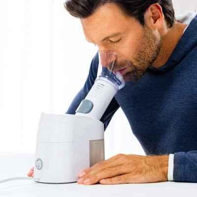 Ατμοποιητής Beurer SI 40 για εισπνοές αλατούχων διαλυμάτων & αιθέριων ελαίων και μείωση των συμπτωμάτων του κρυολογήματος