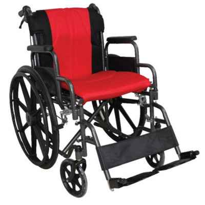 Αναπηρικό αμαξίδιο Golden Κόκκινο / Μαύρο