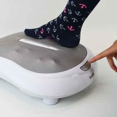 Ενεργειακό μασάζ Shiatsu πελμάτων με θερμότητα Beurer FM 60