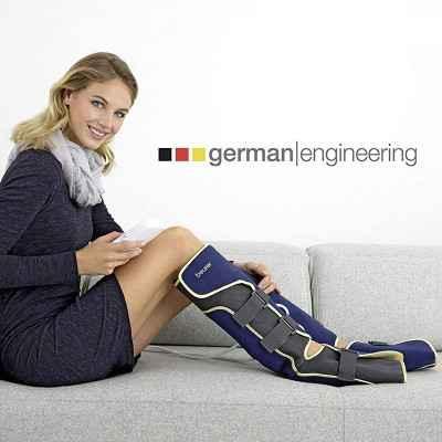 Οι αντιθρομβωτικές περικνημίδες συμπίεσης Beurer FM 150 VEIN παρέχουν άμεση ανακούφιση στα βαριά πόδια