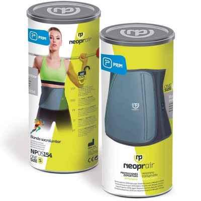 Η ζώνη μέσης Prim Neoprair διατίθεται σε όμορφη συσκευασία