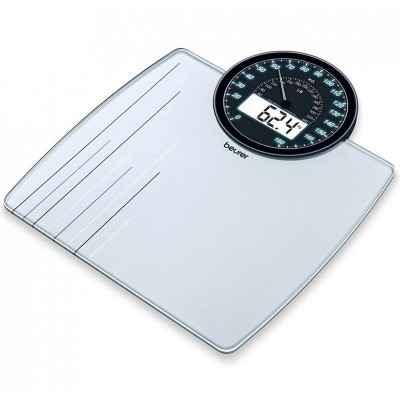 Ηλεκτρονική ζυγαριά μπάνιου Beurer GS 58 με Ψηφιακό & Αναλογικό δείκτη