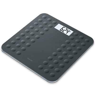 Ηλεκτρονική ζυγαριά μπάνιου Beurer GS 300 μαύρη