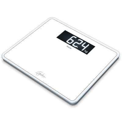 Ηλεκτρονική ζυγαριά μπάνιου γυάλινη Beurer GS 410 Signature Line λευκή