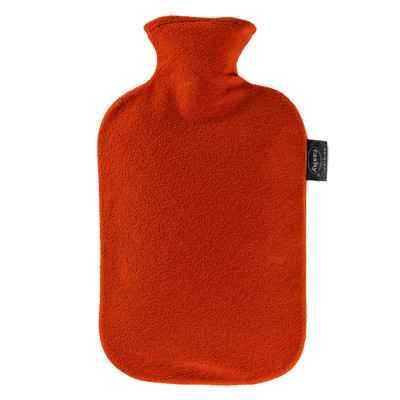 Θερμοφόρα νερού με κόκκινο Fleece κάλυμμα Fashy 2 Lit