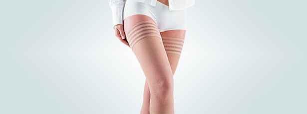 Αντιθρομβωτικές - αντιεμβολικές κάλτσες ριζομηρίου διαβαθμισμένης συμπίεσης